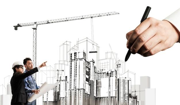 Stadtbau und immobilienentwicklung