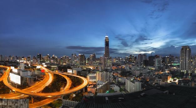 Stadtbild-bangkok-stadt von thailand