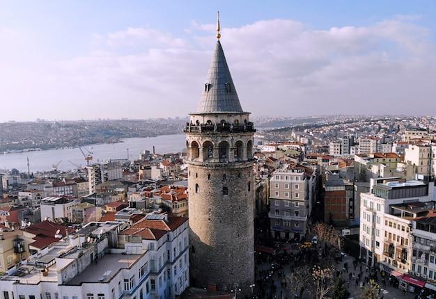 Stadtbild der stadt istanbul in der türkei
