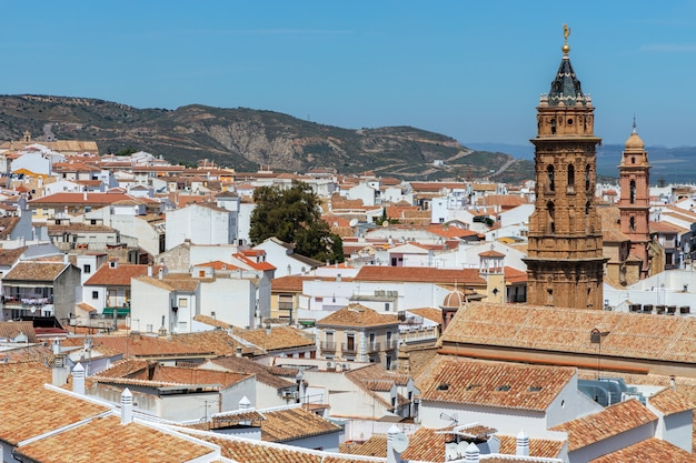Stadtbild in der stadt von antequera. andalusien. spanien.