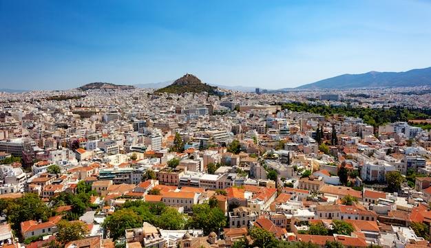 Stadtbild von athen