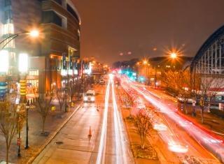Stadtbild von charlotte nc