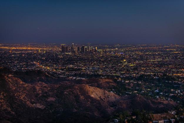 Stadtbild von los angeles
