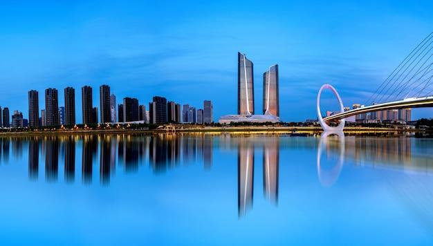 Stadtbild von nanjing, china