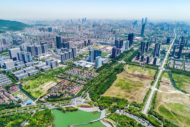 Stadtbild von wuxi