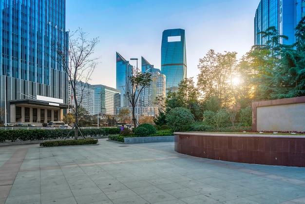 Stadtgärten und architektonische landschaften