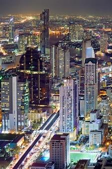 Stadtlandschaft bangkoks thailand
