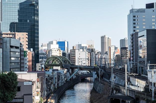 Stadtlandschaft japan