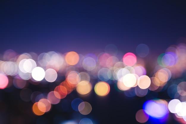 Stadtlicht bokeh
