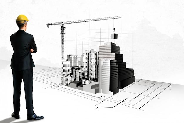 Stadtplanung und immobilienentwicklung.