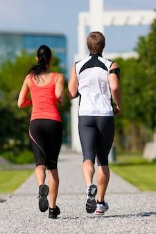 Stadtsport - fitness in der stadt