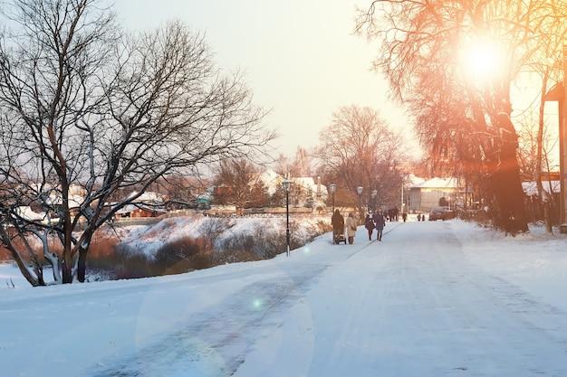 Stadtwanderweg winter