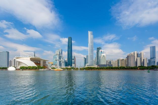Städtische architektur landschaft und skyline