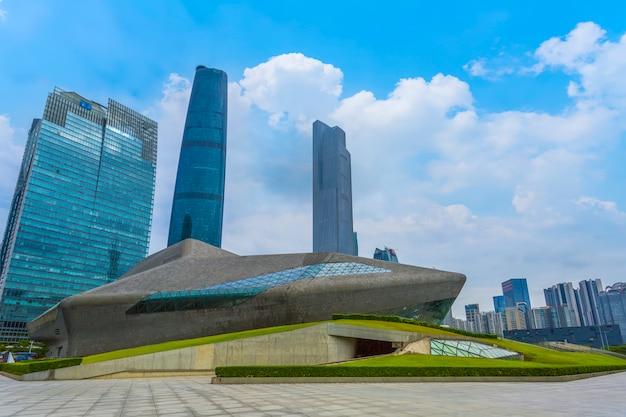 Städtische architekturlandschaft