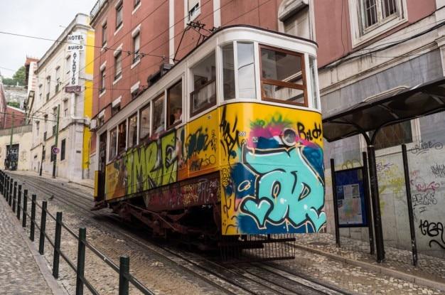 Städtische straßenbahn