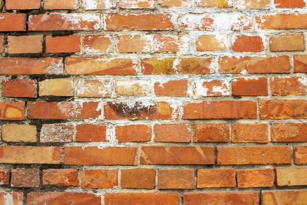 Städtischer straßenhintergrund des backsteinmauerbeschaffenheitsschmutzes