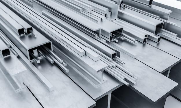 Stahlmetallträger 3d