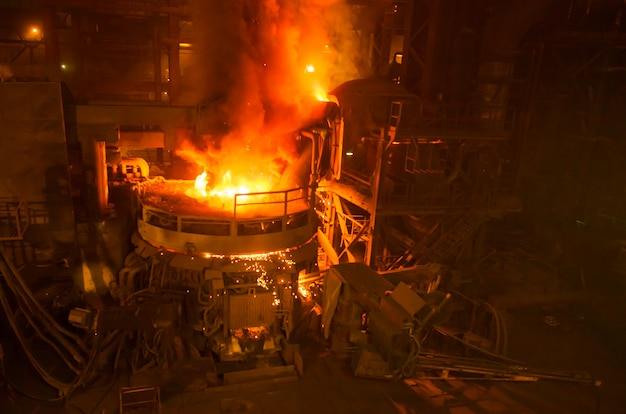 Stahlproduktion in elektroöfen