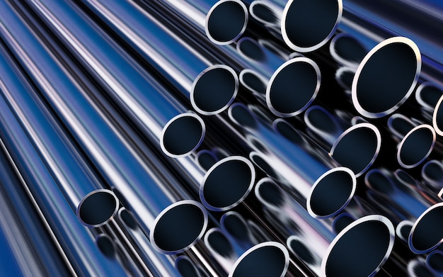Stahlrohre, herstellung von metallpipelines