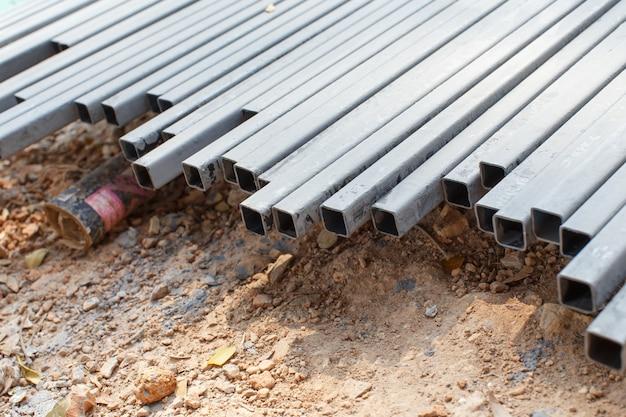 Stahlstange stahl mit löchern