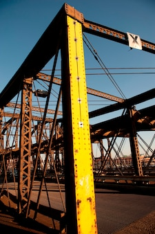 Stahlträger in boston, massachusetts, usa