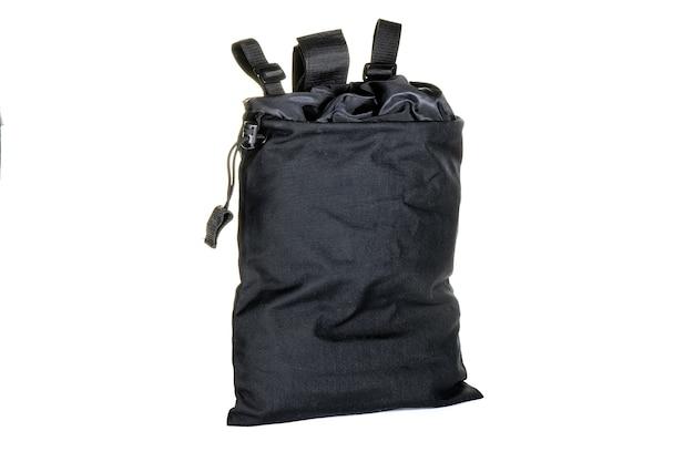 Standard army seesack tasche auf einer weißen oberfläche