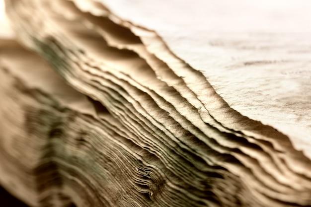 Stapel alter papiere hintergrund
