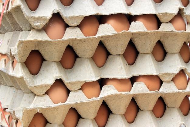 Stapel eier