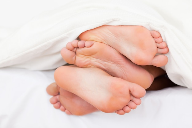 Stapel füße