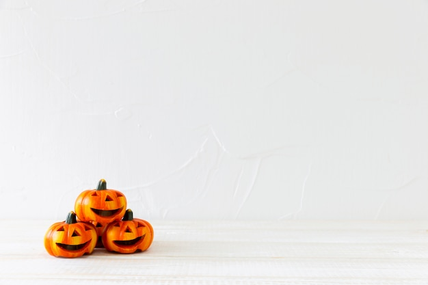Stapel jack-o-laternen