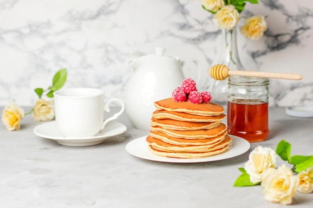 Stapel pfannkuchen