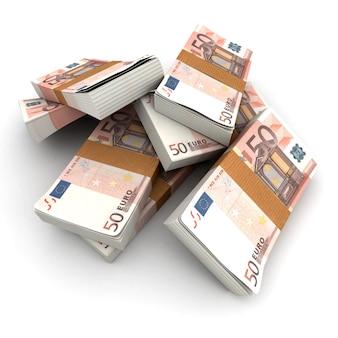 Stapel von 50 euro