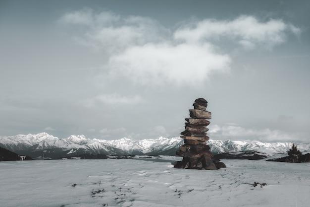 Stapel von steinen