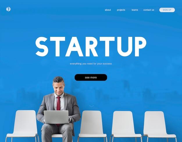 Start-up-ideen geschäftsentwicklung