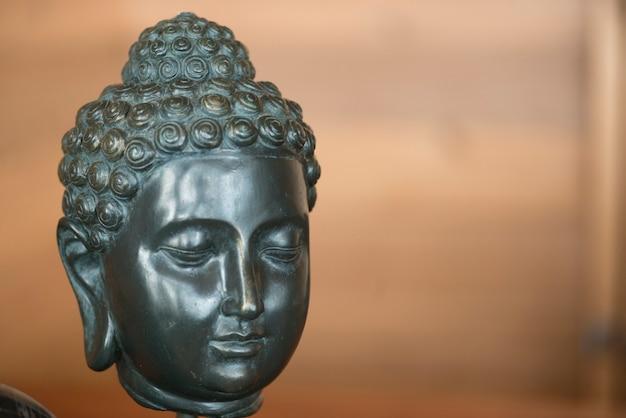 Statue des buddhas, see des holzes, ontario, kanada