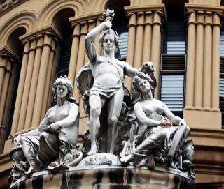 Statue des menschen