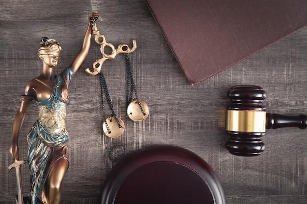 Statue von lady justice