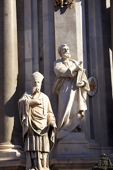 Statue von st. peter