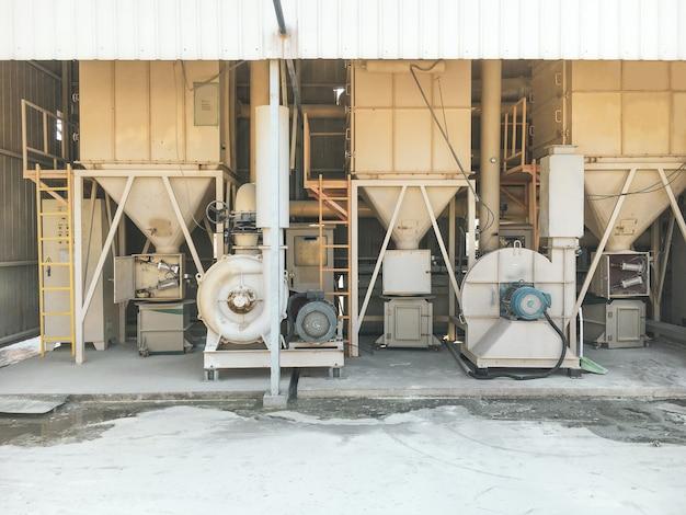 Staubkontrollsystem in industrieanlagen.