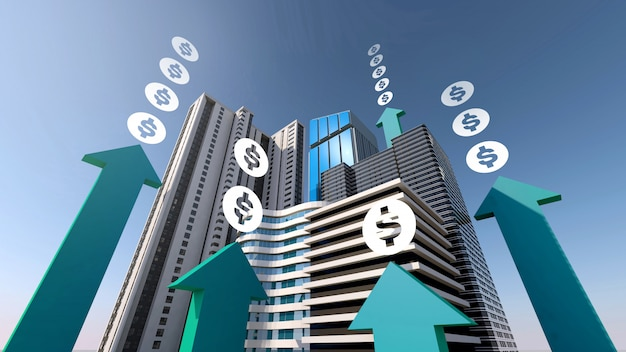 Steigern sie ihr geld mit immobilien- und immobilieninvestitionen