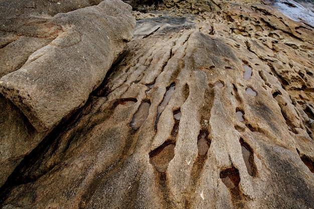 Stein hintergrund. close-up-rock-textur.