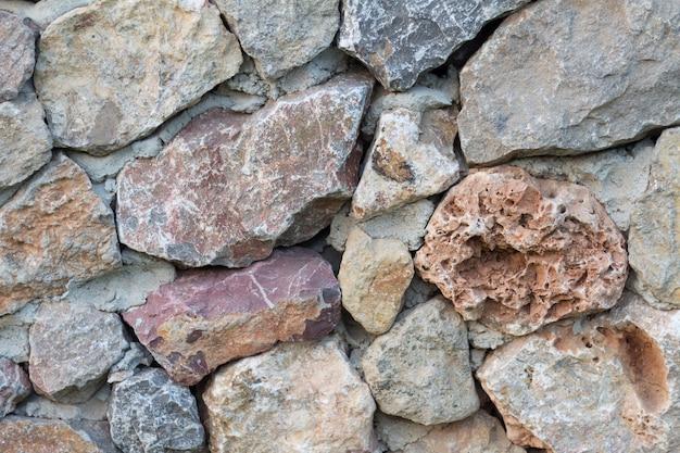 Stein tapete steinoberfläche hintergrund. textur der steinmauer. steinmauer für hintergrund