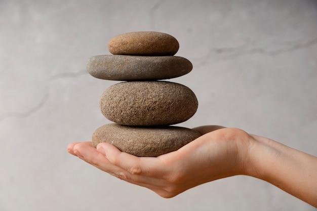 Steine zur meditation