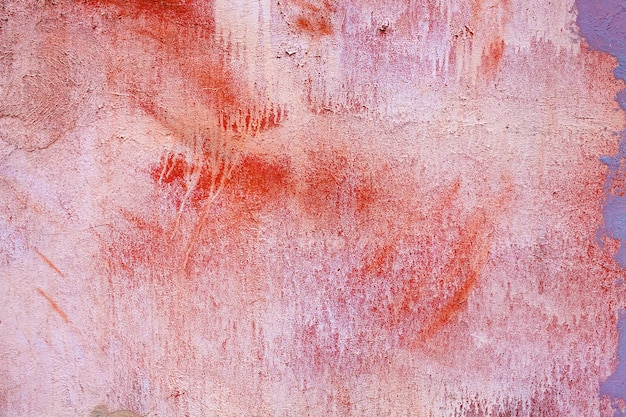 Steinmauer mit alter gebrochener farbe. foto in hoher qualität