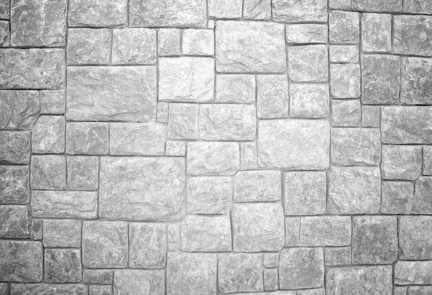 Steinmauer schwarz und weiß