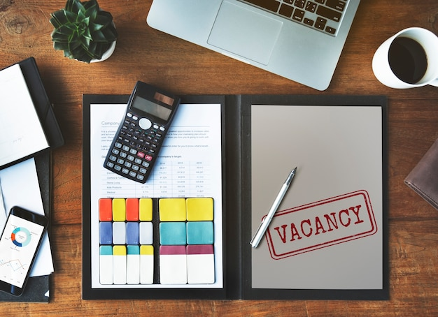Stellenangebot karriere suche hotel beschäftigung arbeitskonzept