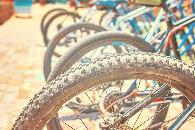 Stellplätze für fahrräder