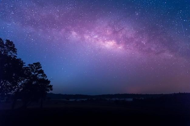 Stern, astronomie, milchstraße