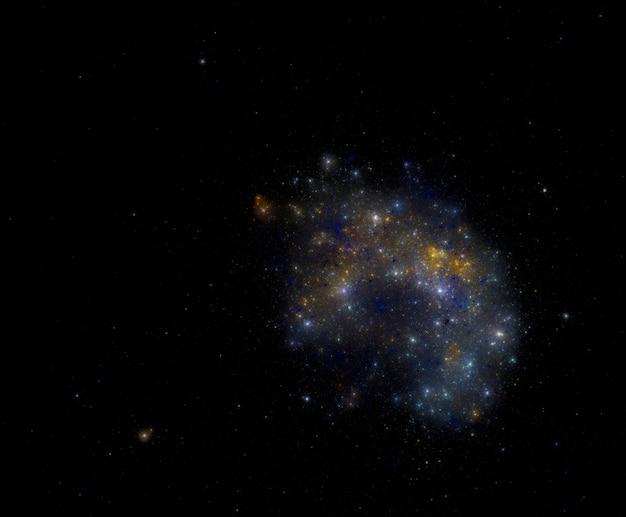 Sterne feld hintergrund. sternenklare weltraumhintergrundbeschaffenheit