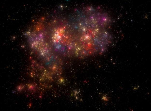 Sternenklare weltraumhintergrundbeschaffenheit
